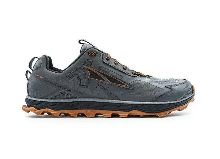 Mens Altra Lone Peak 4.5 Gray/Orange