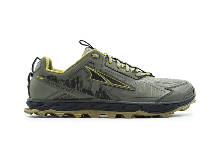 Mens Altra Lone Peak 4.5 Olive/Willow