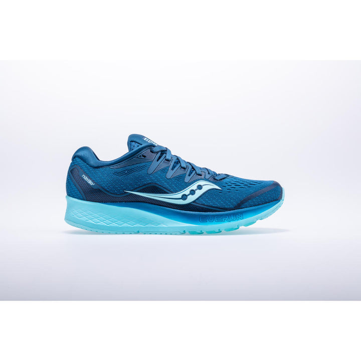 Womens Saucony Ride ISO 2  Blue/Aqua(25)