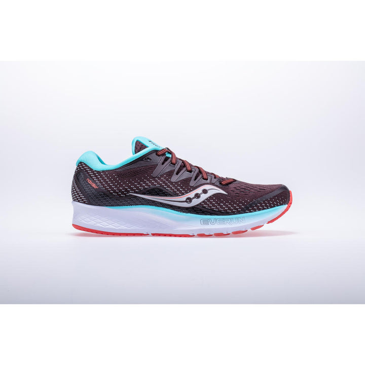 Womens Saucony Ride ISO 2 Brown/Coral (45)