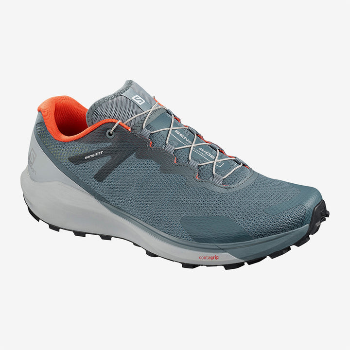 Mens Salomon Sense Ride 3  Stormy Weather/Pearl Blue