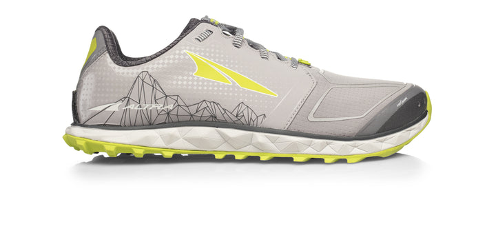 Mens Altra Superior 4.0 Gray/Lime