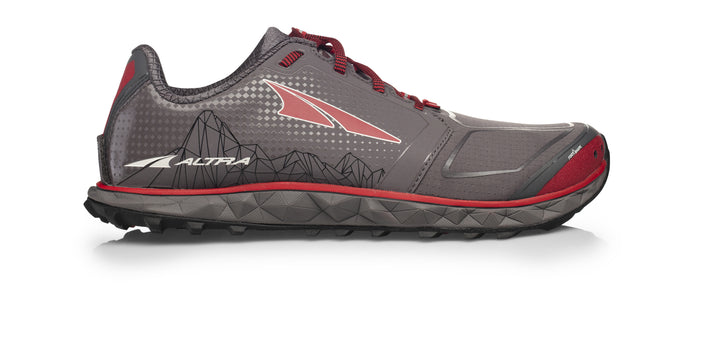 Mens Altra Superior 4.0 Gray/Red