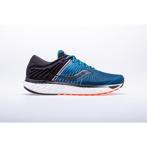 Mens Saucony Triumph 17 Blue/Black (25) WIDE