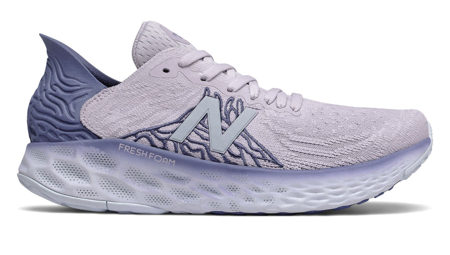 Womens New Balance W1080v10 (D) Thistle/Magnetic Blue (H)