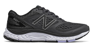 Womens New Balance  W840v4 (D) Black (BK)