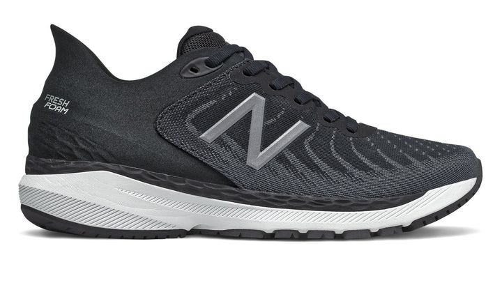New Balance W860v11 (2A) Black with White (B)