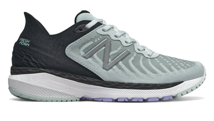 New Balance W860v11 (D) Camden Fog with Black (E)