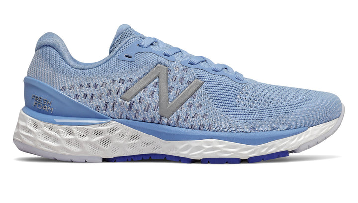 Womens New Balance W880v10 Team Carolina/Moondust (B)