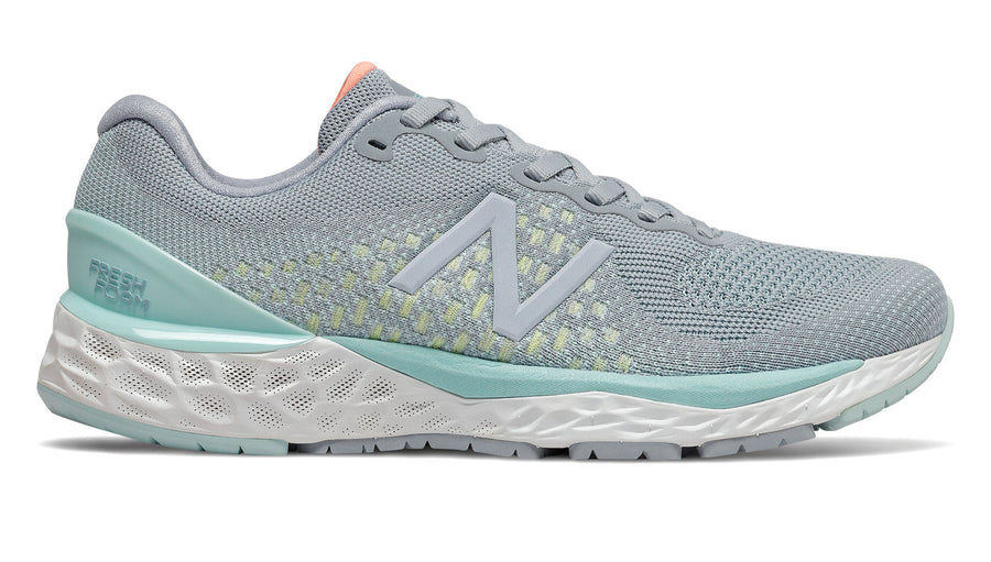 Womens New Balance W880v10 Light Slate/Bali Blue (G)