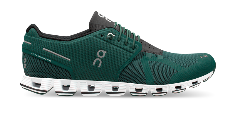 Mens ON Cloud Evergreen/Black
