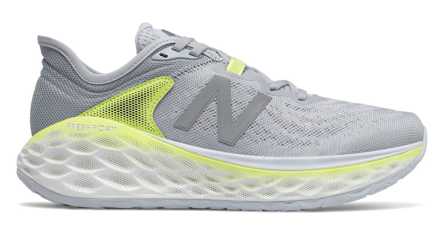 New Balance Womens Fresh Foam More v2 Light Cyclone/Lemon Slush (GY)
