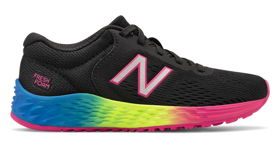 New Balance Kids Fresh Foam Arishi v2 Black/Carnival (BC)