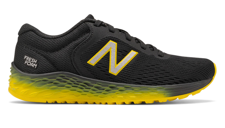 New Balance Kids Fresh Foam Arishi v2 Black/Atomic Yellow (BY)