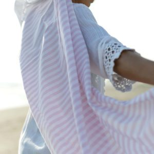 The Lightest LUALOHA Turkish towel yet - The Stripes Light Collection