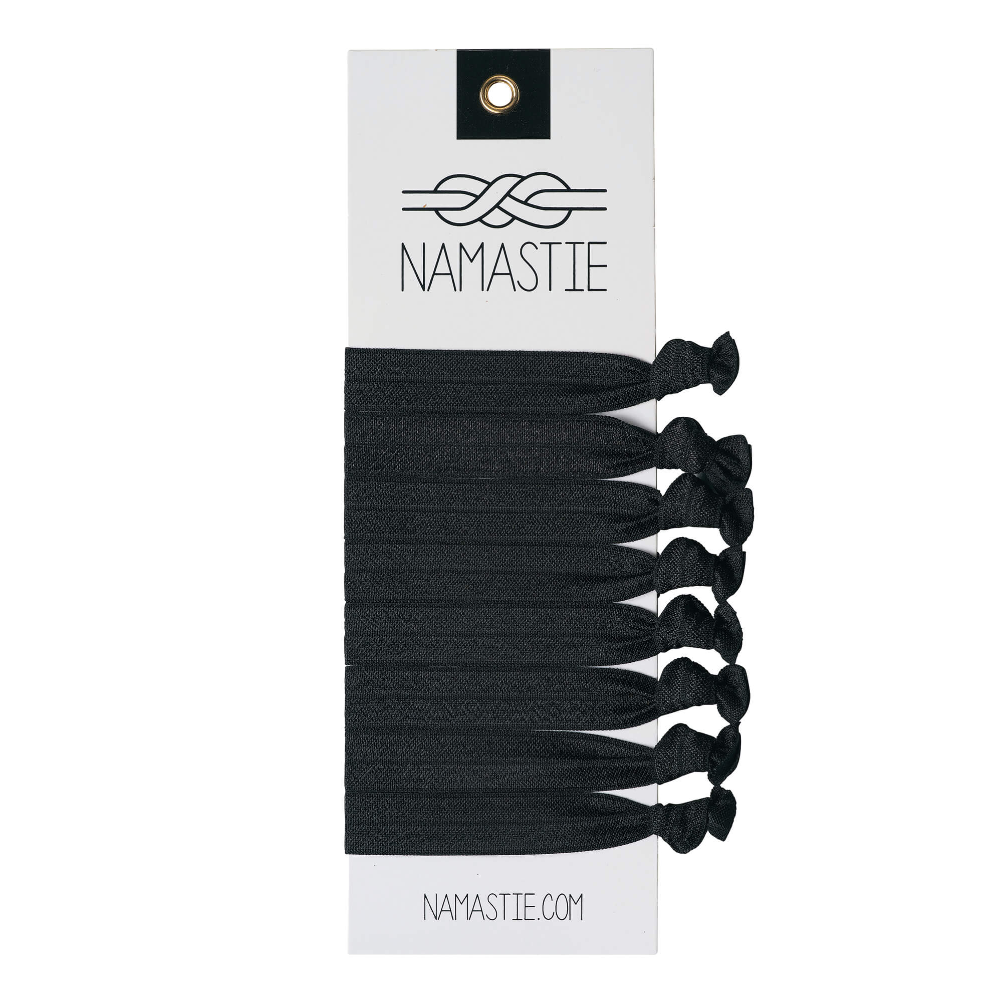 Namastie Black Hair Ties