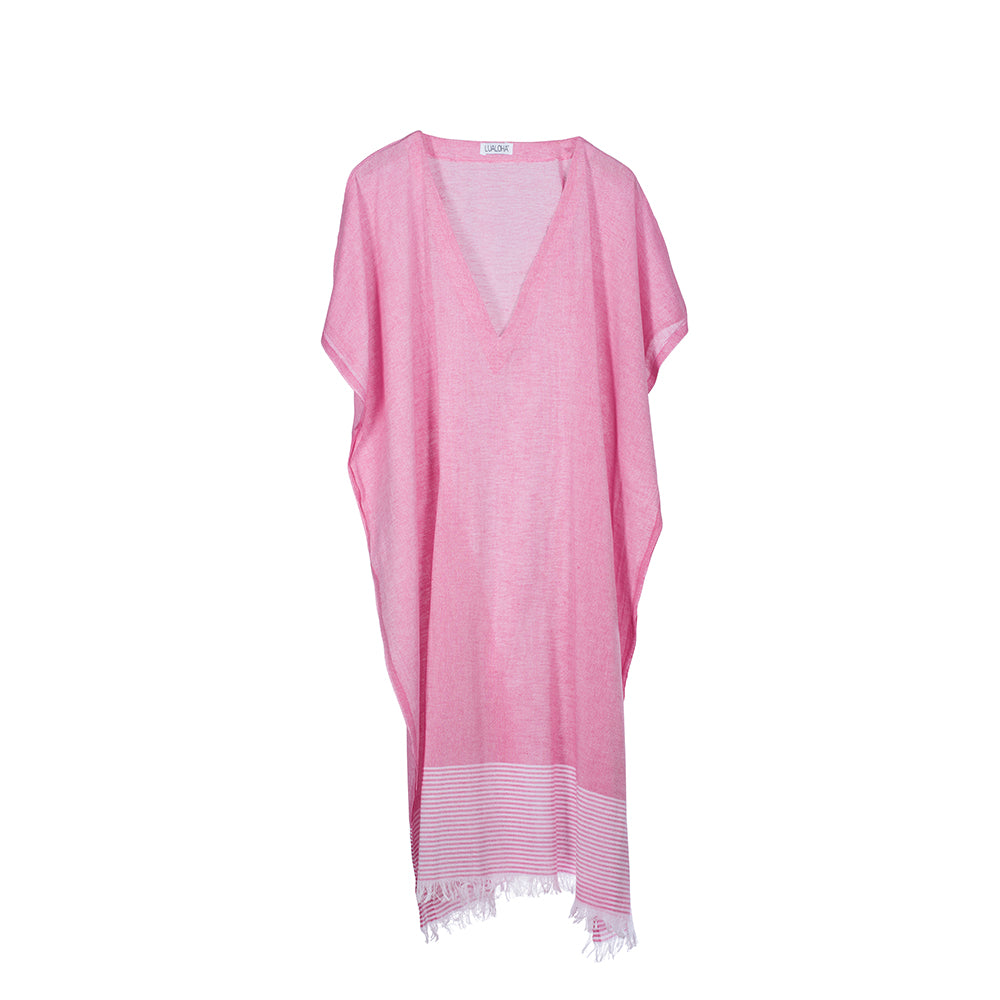 Breeze Cover up Hot Pink Long