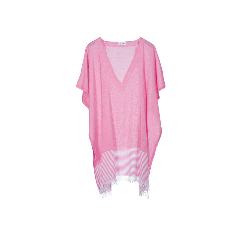 Breeze Cover up Hot Pink Short