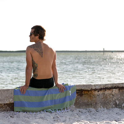 turkish-towel-buddhaful-olive-blue
