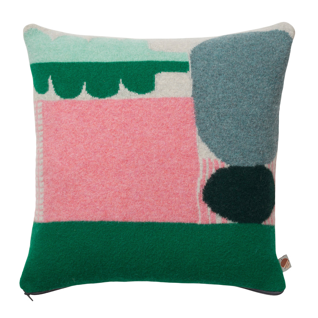Donna Wilson Koyo Cushion Green - RUME