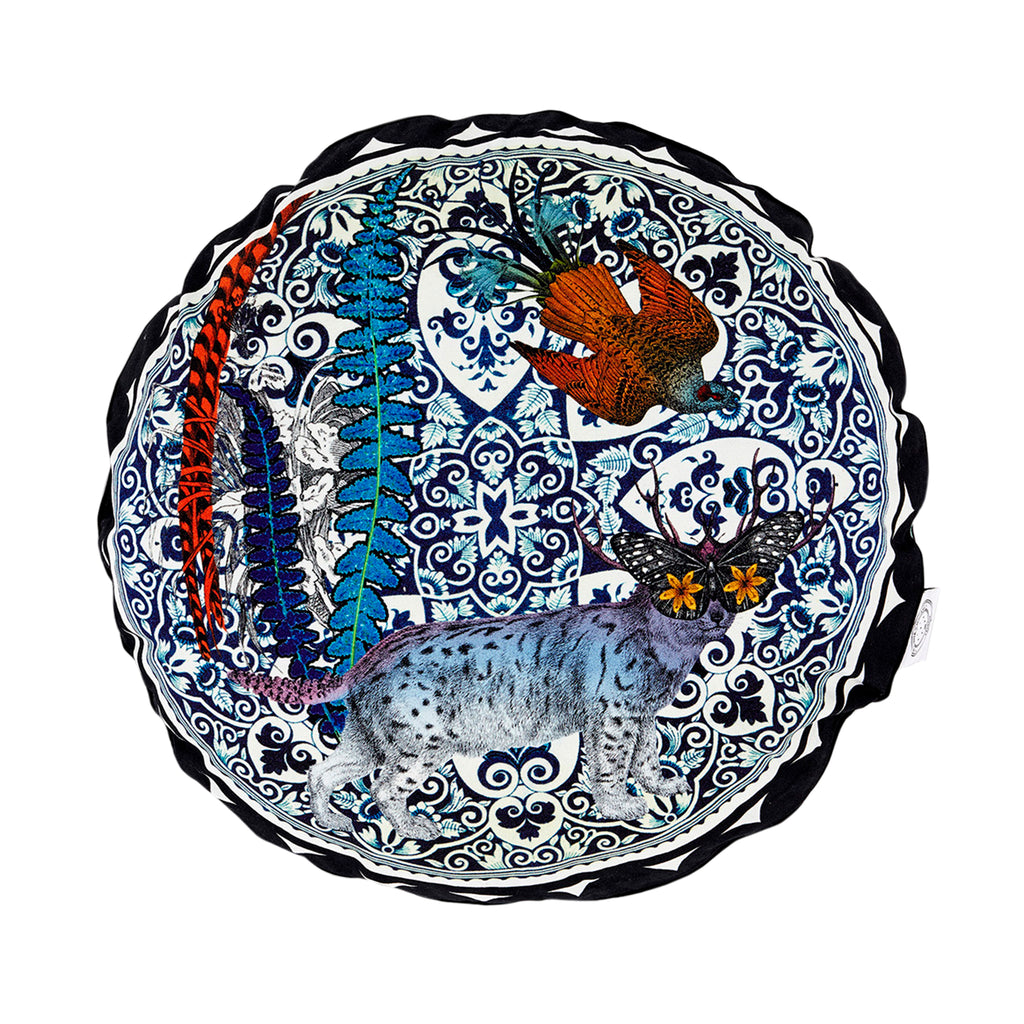 Kristjana S Williams Animal Tile Circular