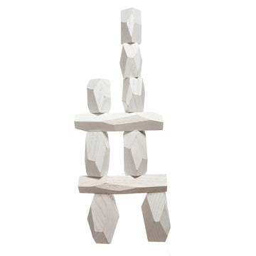 Areaware Balancing Blocks White - RUME