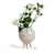 Atelier Stella Small Moon Vase White