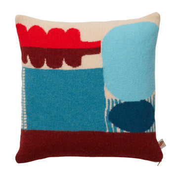 Donna Wilson Koyo Cushion Blue - RUME