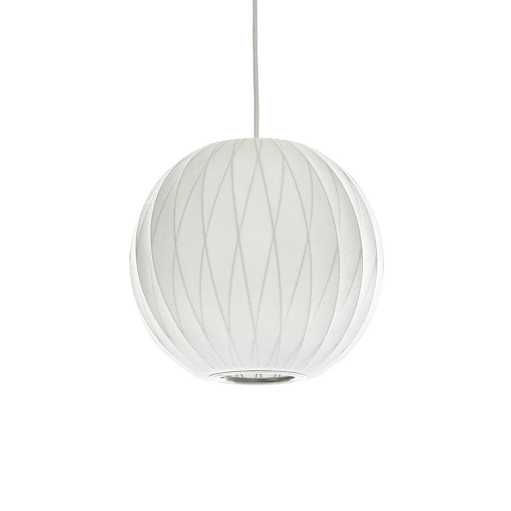 George Nelson Bubble Lamp Crisscross Ball Pendant