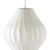 George Nelson Bubble Lamp Crisscross Pear Pendant