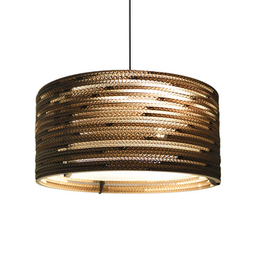Graypants Scraplight Drum Pendant Natural - RUME