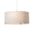 Graypants Scraplight Drum Pendant White