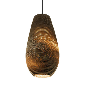 Graypants Scraplight Drop Pendant Natural - RUME