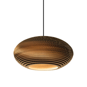 Graypants Scraplight Disc Pendant Natural - RUME