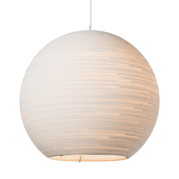 Graypants Scraplight Sun Pendant White - RUME