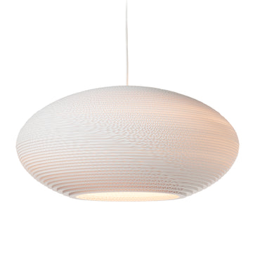 Graypants Scraplight Disc Pendant White