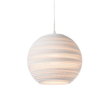 Graypants Scraplight Moon Pendant White - RUME