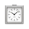Leff Block Clock Steel - RUME