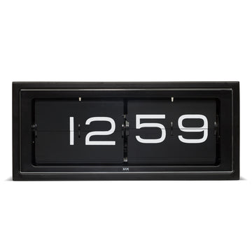Leff Brick Clock Black - RUME