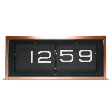 Leff Brick Clock Copper - RUME