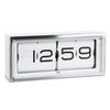 Leff Brick Clock Steel - RUME