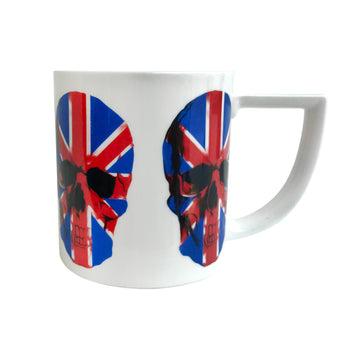 The New English Union Jack Skull