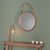 Tom Raffield Harlyn Mirror
