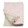 Niki Jones Velvet Linen Throw Nude - RUME