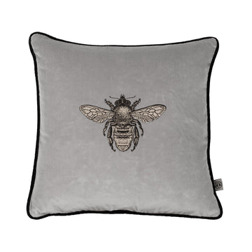 Timorous Beasties Wild Honey Bee Grey - RUME