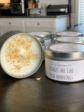 Load image into Gallery viewer, All Natural Herbal Blended Tin Candle w/ Herbs