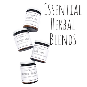 Essential Herbal 9oz Natural Candle