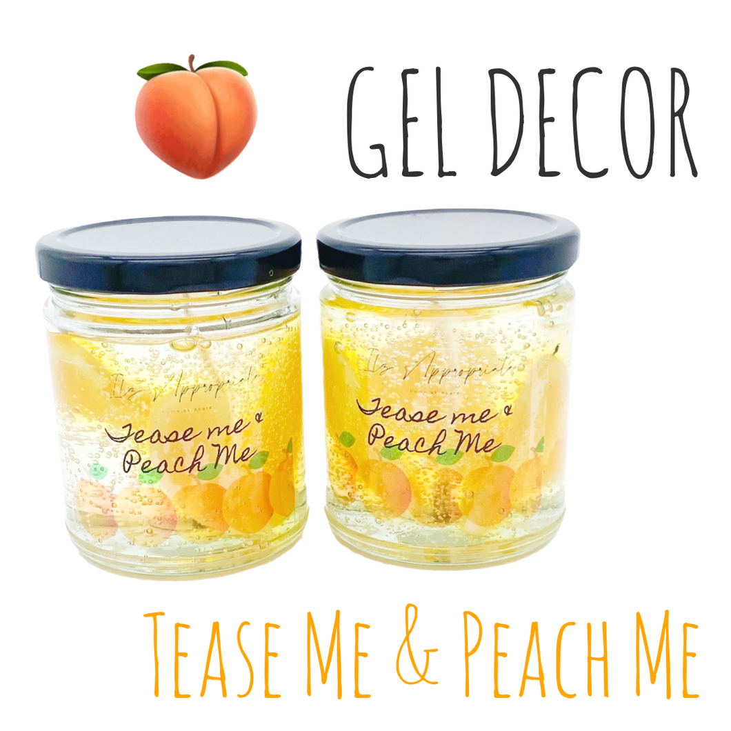 Gel Candle w/ Embeds 8oz.