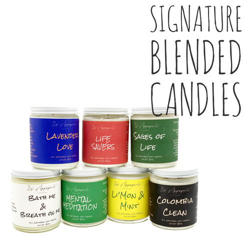9oz. Signature All Natural Soy Candles