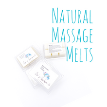 Load image into Gallery viewer, Natural Massage Wax Melts
